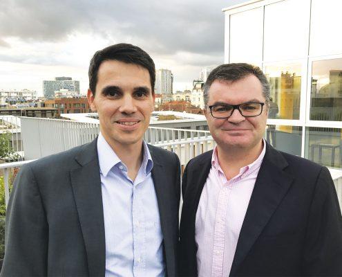 Thomas Le Diouron et Philippe Boyer