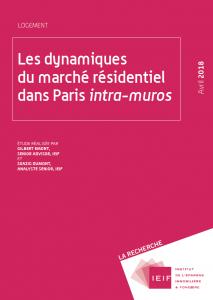 Les dynamiques du marché résidentiel dans Paris intra-muros