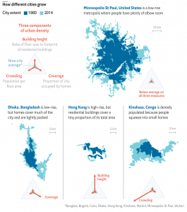 How different cities grow