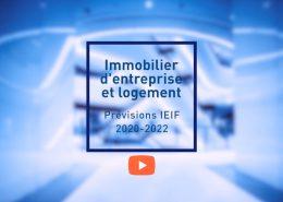 Immobilier d'entreprise et logement : les prévisions IEIF 2020-2022